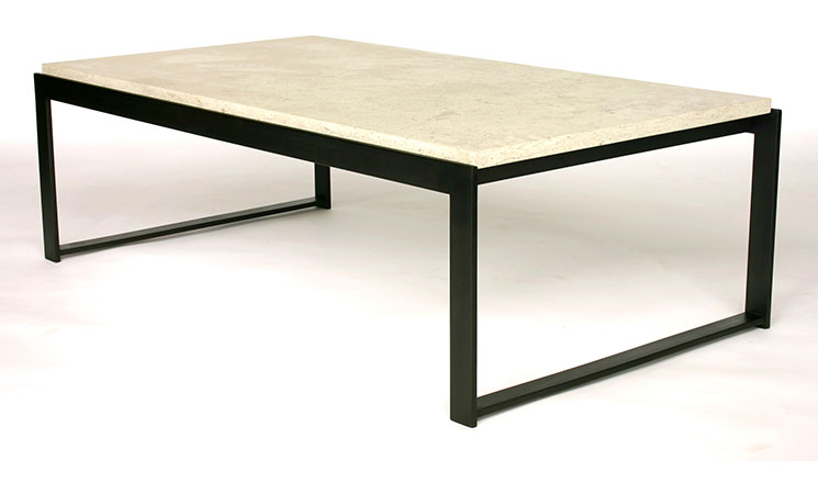 Great Limestone Top Coffee Table Rascalartsnyc