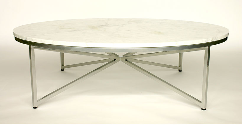 Ordinaire Round Stone Coffee Table