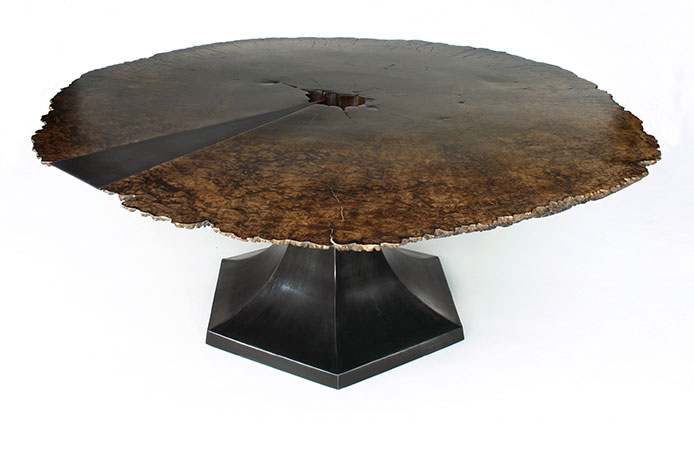 Slab Tables At Loki Custom Furniture - Custom tulip table