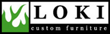 Loki Custom Furniture Logo