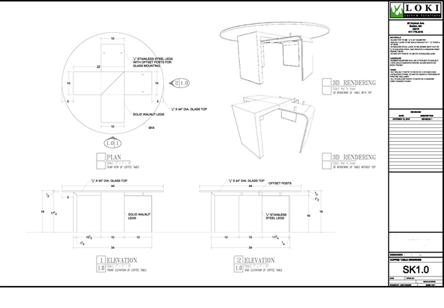 Furniture Shop Drawings Shop Drawings Alongside
